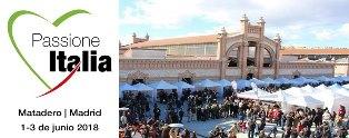 #PASSIONEITALIA 2018 SI TERRÀ DALL'1 AL 3 GIUGNO NEL MATADERO DI MADRID
