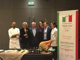THE EXTRAORDINARY ITALIAN TASTE: AZIONI ED EVENTI CON LE CCIE DI LIONE MARSIGLIA E NIZZA