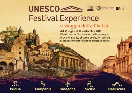 NASCE LA RETE SITI UNESCO DEL SUD ITALIA
