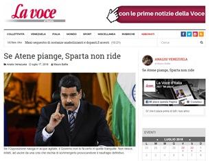 SE ATENE PIANGE, SPARTA NON RIDE – di Mauro Bafile