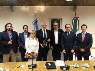 BUENOS AIRES: L'AMBASCIATORE MANZO ALLA CERIMONIA DI INSEDIAMENTO DEL GRUPPO DI AMICIZIA ITALIA-ARGENTINA
