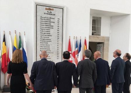 LA TUNISIA RICORDA L'ATTENTATO AL BARDO