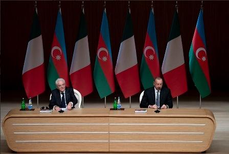 MATTARELLA AL FORUM ECONOMICO ITALIA-AZERBAIGIAN
