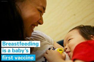 DA UNICEF E OMS IL NUOVO RAPPORTO SULL'ALLATTAMENTO MATERNO: 3 BAMBINI SU 5 NON VENGONO ALLATTATI NELLA PRIMA ORA DI VITA