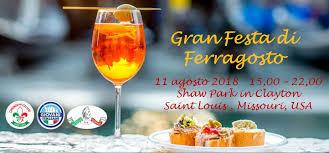 ITALIANI D'AMERICA: GRAN FESTA DI FERRAGOSTO A ST LOUIS