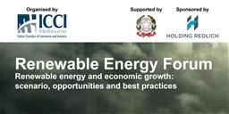 ENERGIE RINNOVABILI: A MELBOURNE IL FORUM DELLA CAMERA DI COMMERCIO ITALIANA