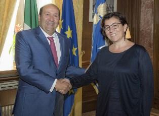 IL MINISTRO TRENTA RICEVE L'AMBASCIATORE D'EGITTO