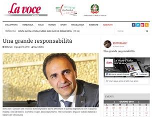 UNA GRANDE RESPONSABILITÀ – di Mauro Bafile