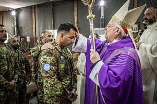MISSIONE IN LIBANO: SANTA CRESIMA PER I MILITARI ITALIANI