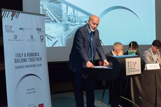 """ITALY & ROMANIA - BUILDING TOGETHER"": 45 AZIENDE ITALIANE A BUCAREST CON ICE, ANCE E OICE"