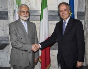 MOAVERO MILANESI INCONTRA IL PRESIDENTE DEL CONSIGLIO STRATEGICO PER LE RELAZIONI ESTERE DELL'IRAN