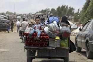 SIRIA MERIDIONALE/ UNHCR: GARANTIRE UN PASSAGGIO SICURO PER I CIVILI IN FUGA
