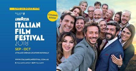 LAVAZZA ITALIAN FILM FESTIVAL 2018 IN AUSTRALIA