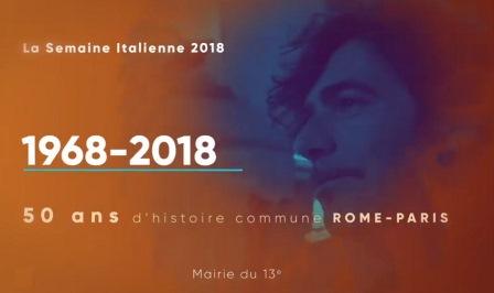 A PARIGI LA SEMAINE ITALIENNE 2018
