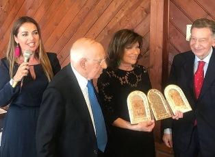 L'ASSOCIAZIONE CALABRESI NEL MONDO PREMIA LA PRESIDENTE DEL SENATO ALBERTI CASELLATI