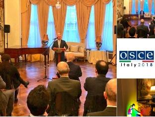 LONDRA: PRESENTATE IN AMBASCIATA LE PRIORITÀ DELLA PRESIDENZA ITALIANA DELL'OSCE 2018