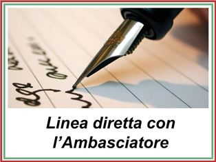 LINEA DIRETTA CON L'AMBASCIATORE: LA NUOVA INIZIATIVA DELL'AMBASCIATA ITALIANA AD OSLO