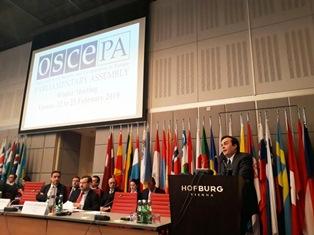 IL SOTTOSEGRETARIO AMENDOLA ALL'ASSEMBLEA PARLAMENTARE OSCE