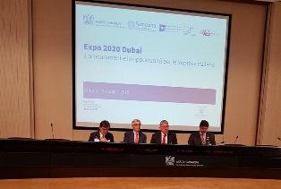"""""""IN GARA CON NOI - TENDER LAB"""": IL ROADSHOW DI ICE E FARNESINA IN VISTA DI EXPO DUBAI 2020"""