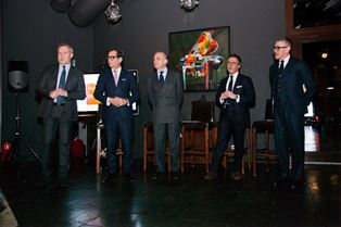 L'AMBASCIATORE TERRACCIANO AL PADIGLIONE ITALIANO AL 30° CPM COLLECTION PREMIERE MOSCOW