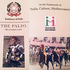 """""""ITALIA, CULTURE, MEDITERRANEO"""": A MASCATE UNA MOSTRA FOTOGRAFICA SUL PALIO DI SIENA"""