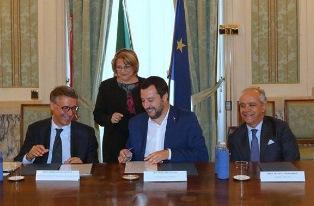 DIRAMATA LA DIRETTIVA DEL MINISTRO SALVINI/ SIGLATO AL VIMINALE UN ACCORDO DI COLLABORAZIONE CON L'ANAC