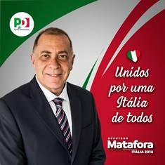 POLITICHE 2018/ MATAFORA (PD) REPLICA A GAZZOLA (MAIE): C'È UN VERBO CHE IL MAIE DOVREBBE IMPARARE A CONIUGARE