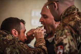 LIBANO: PIÙ DI 800 LE PERSONE VISITATE DAI MEDICI ITALIANI DI UNIFIL