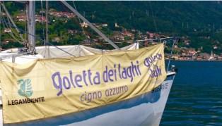 LEGAMBIENTE: RIPARTE LA GOLETTA DEI LAGHI