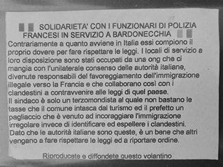 A TORINO UN INCONTRO SUI MIGRANTI IN TRANSITO AL CONFINE ITALO-FRANCESE