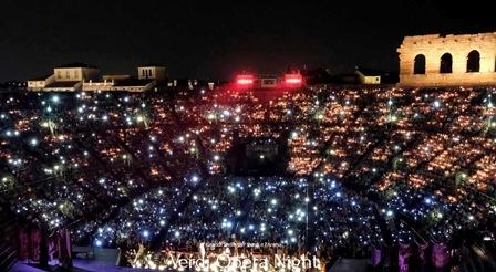 VERDI OPERA NIGHT: PARATA DI STELLE ALL'ARENA DI VERONA