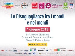 """A ROMA IL SEMINARO """"LE DISUGUAGLIANZE TRA I MONDI E NEI MONDI"""""""