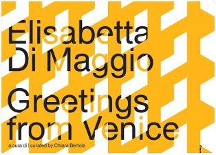 """""""GREETINGS FROM VENICE"""": ELISABETTA DI MAGGIO ALL'EVENT PAVILION DEL T FONDACO DEI TEDESCHI DI VENEZIA"""