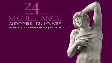 """""""24H AVEC... MICHEL-ANGE"""" AL LOUVRE"""