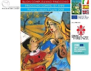 PINOCCHIO COMPIE 137 ANNI: A FIRENZE L'OMAGGIO TRA CULTURA E SOLIDARIETÀ