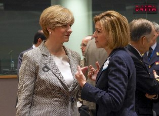 DIFESA EUROPEA: PINOTTI A BRUXELLES