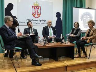 """PRESENTATA A BELGRADO LA MOSTRA """"TESORI E IMPERATORI. LO SPLENDORE DELLA SERBIA ROMANA"""""""