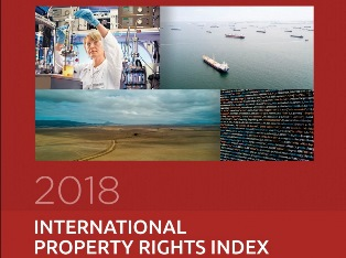 TUTELA DELLA PROPRIETÀ INTELLETTUALE: L'ITALIA AL 50° POSTO DELL'INTERNATIONAL PROPERTY RIGHTS INDEX 2018
