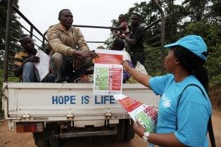 UNICEF: CAMPAGNA DI SENSIBILIZZAZIONE IN CONGO PER CONTENERE L'EPIDEMIA DI EBOLA