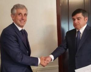 IL DG VIGNALI IN VISITA IN AZERBAIJAN E IRAN
