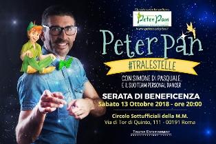 """""""PETER PAN #TRALESTELLE"""": SABATO LO SPETTACOLO BENEFICO AL CIRCOLO SOTTUFFICIALI DELLA MARINA MILITARE"""