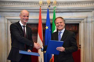 INCONTRI ANNUALI ITALO-OLANDESI: IL MEMORANDUM FIRMATO DA MOAVERO MILANESI E BLOK