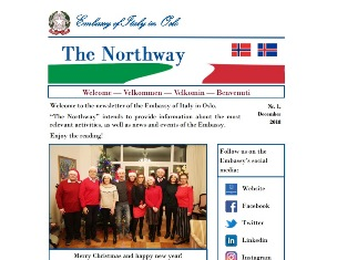 """THE NORTHWAY"": LA NUOVA NEWSLETTER DELL"