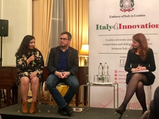 """LONDRA: IN AMBASCIATA 3° APPUNTAMENTO DI """"ITALY4INNOVATION"""" DEDICATO AL FINANZIAMENTO DELLE PMI"""