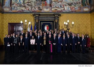 MALTA: L'AMBASCIATORE SAMMARTINO ALLE CERIMONIE DI AUGURI AL CORPO DIPLOMATICO PER IL NUOVO ANNO