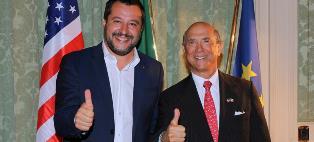 INTESA E OTTIMA COLLABORAZIONE ITALIA E USA: SALVINI INCONTRA EISENBERG