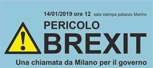 BREXIT/ UNGARO (PD) A MILANO PER PRESENTARE LE MISURE DEL PD IN CASO DI NO DEAL