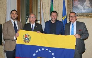 VENEZUELA/ BORCHIA (LEGA NEL MONDO): DA SALVINI SOSTEGNO CONCRETO ALLA TRANSIZIONE