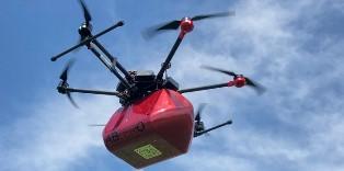 OMAGGIO A LEONARDO A 500 ANNI DALLA MORTE: A VINCI IL VOLO SPERIMENTALE DEL DRONE DI ABZERO CHE TRASPORTA SANGUE ED EMODERIVATI