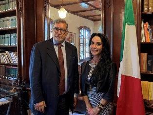 ALDERISI (FI) INCONTRA LA COMUNITÀ ITALIANA DEL COSTA RICA